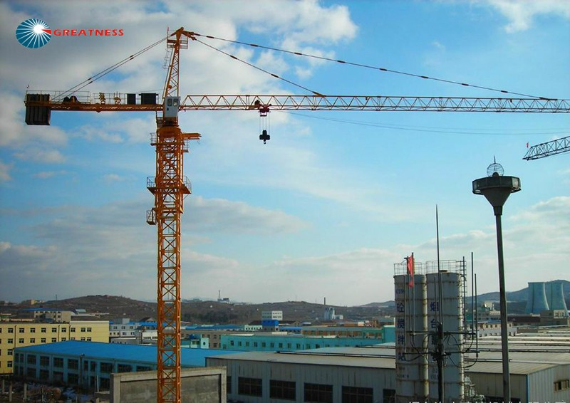 Self rasing electric topkit 6 to 8 tons max loading capacity tower crane price for sale
