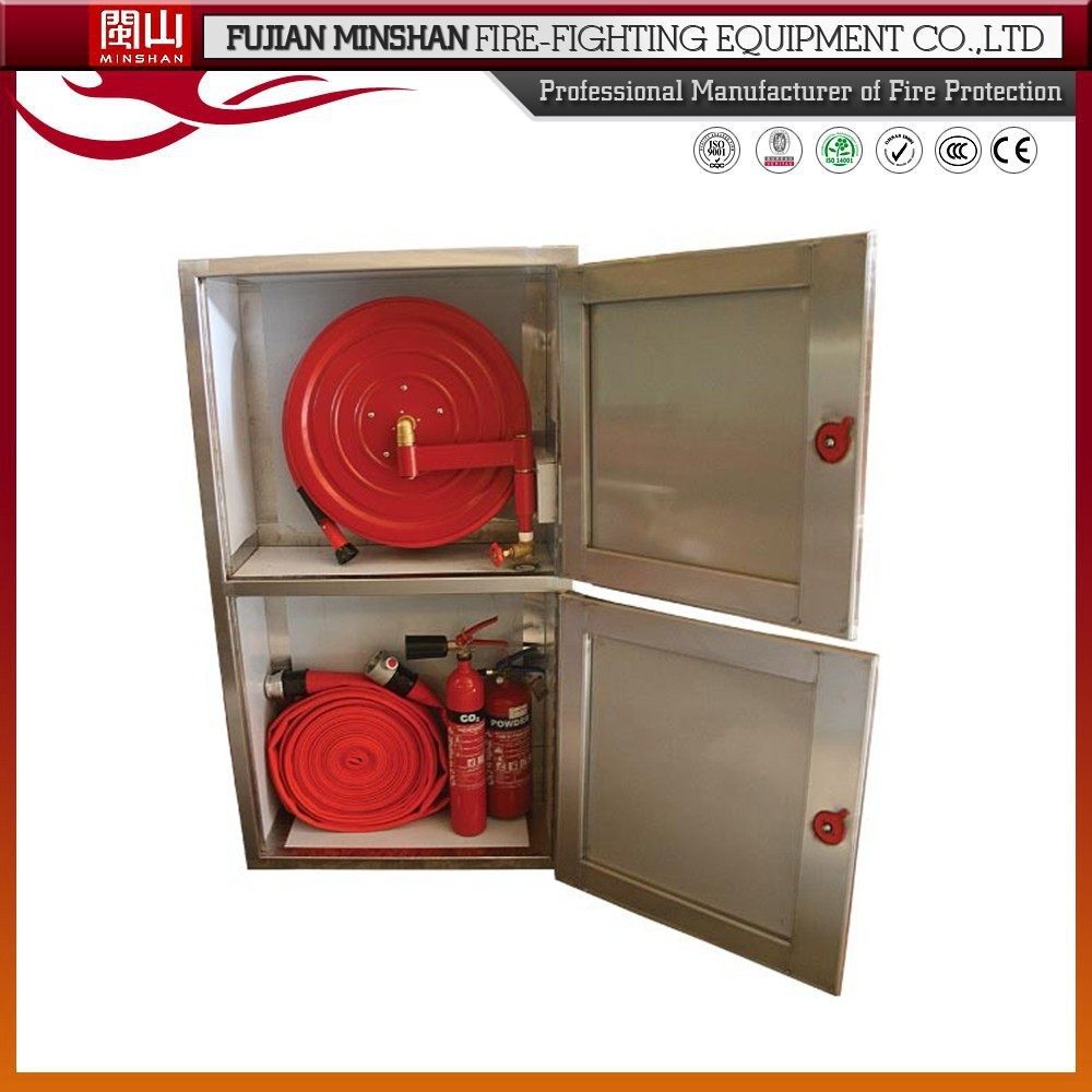 Stainless Steel Fire Hose Cabinet And Fire Hose Price - Buy Fire ...