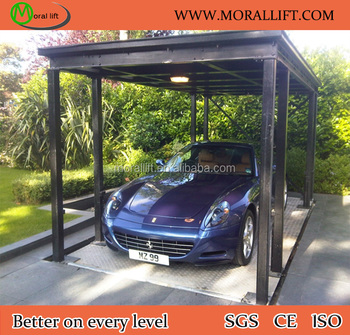 parking souterrain quipement ascenseur automatique hydraulique empileur de voiture ascenseur. Black Bedroom Furniture Sets. Home Design Ideas
