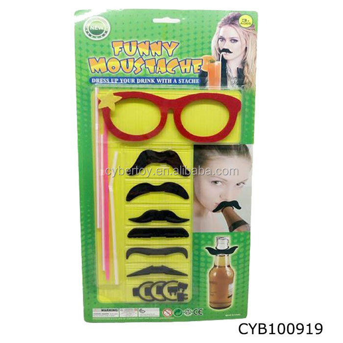 Funny Cartoon Glasses Joke Plastic Cheap Promotion toys for Kids