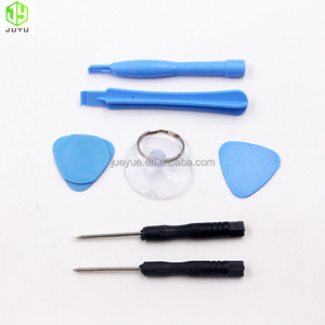 7 in 1 tool Glass Repair Pry Kit Tool for iphone glass replacement with 0.8mm star and 1.5 mm +