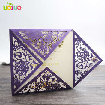 Handmade Paper Greeting Cards Designslaser Cut Best Wishes