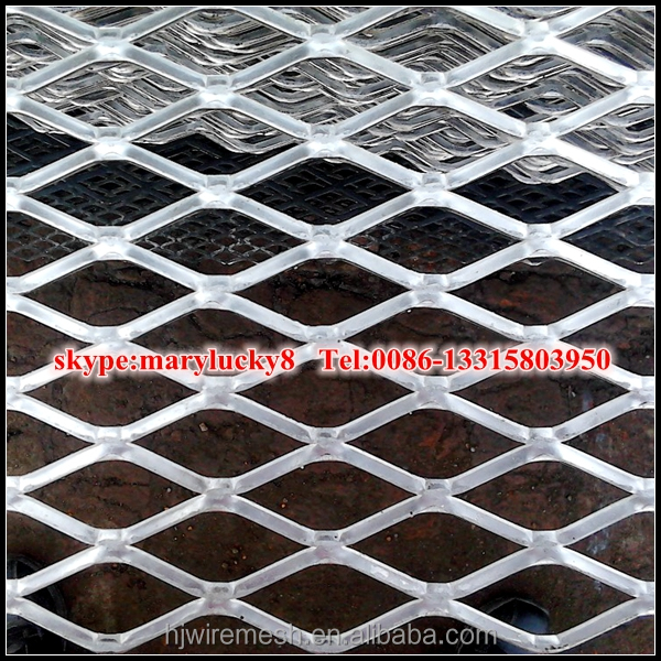 Flattened expanded metal sheet/Galvanized Flat expanded metal