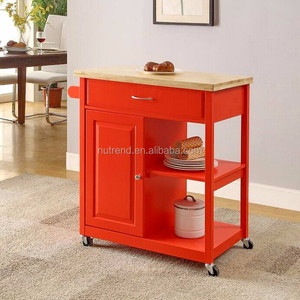 Red Kitchen Cart, Red Kitchen Cart Suppliers and ...