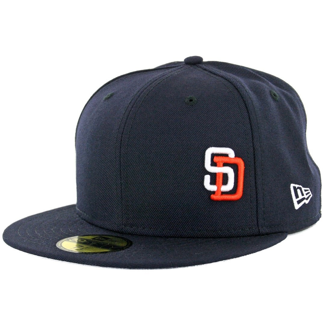 89ae10d2204 New Era 59Fifty San Diego Padres