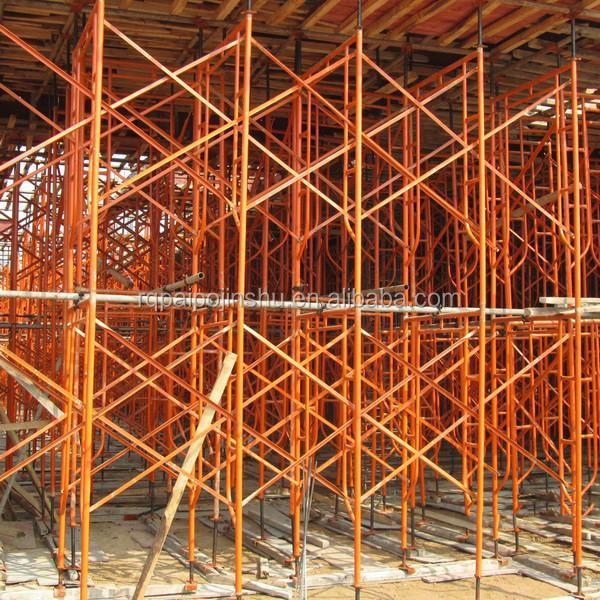 Frame Vs Shoring Prop : Door type scaffolding shoring frame system