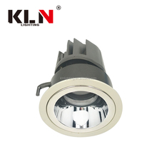 Hotel Use Luxious White and Black Triac Dimmable 10W LED COB Wall Washer Downlight