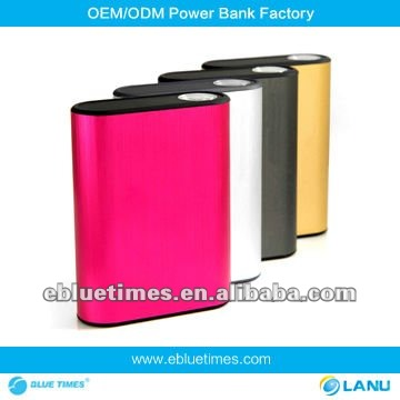 4400mAh Universal portable batteries with charger for iPhone