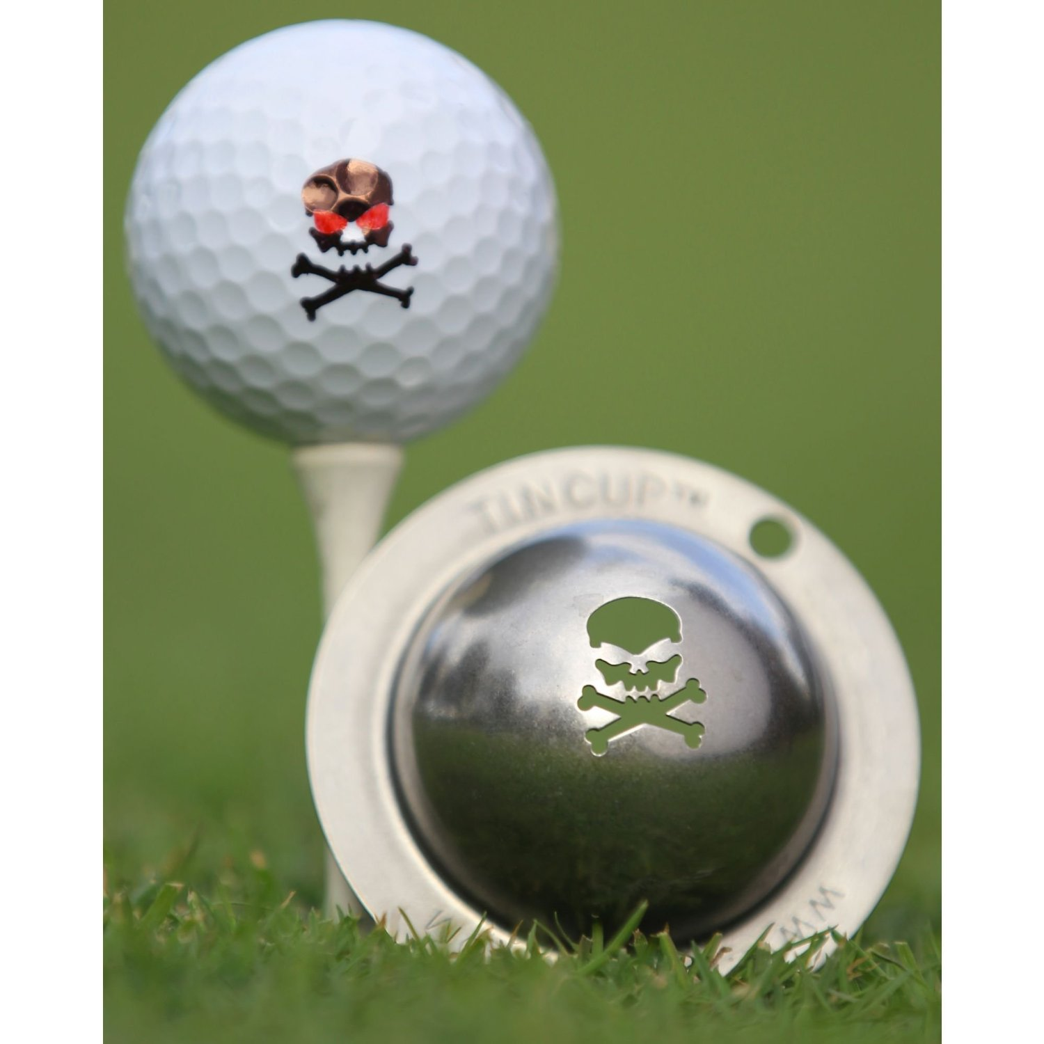 Tin Cup Bombs Away Golf Ball Marking Stencil, Steel