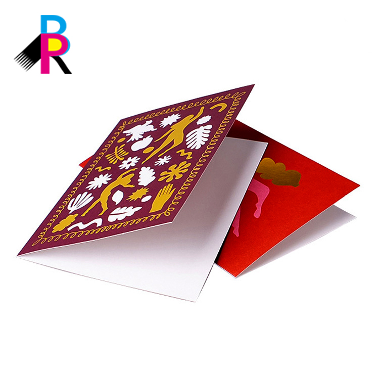 Hot sales cheap custom elegant logo design wholesale wedding invitation card