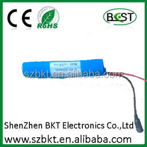 led torch light rechargeable battery 6v li-ion battery 6v rechargeable lantern battery