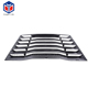 Car parts accessories Fits 16-17 Chevy Camaro ABS plastic Rear Window Louver Cover