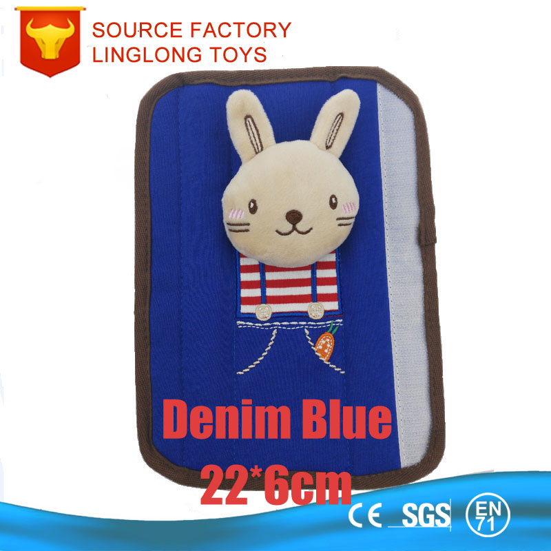 Cross Stripe Filling Bar Mashimaro Rabbit Baby Children Plush Belt Shoulder Support Pillow