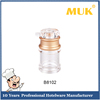 MUK professional hotel restaurant supplier table items golden Arcylic seasoning cruet