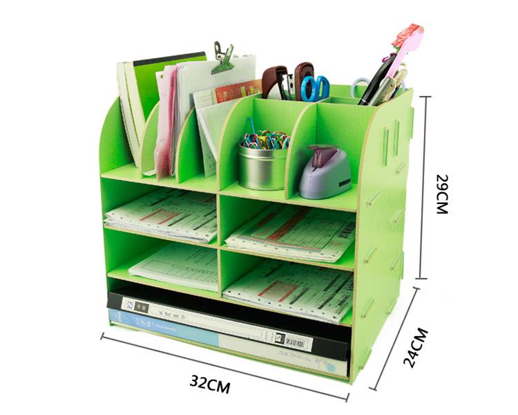Organizer Ufficio Fai Da Te : Ufficio fai da te fai da te file in legno multi funzione scrivania