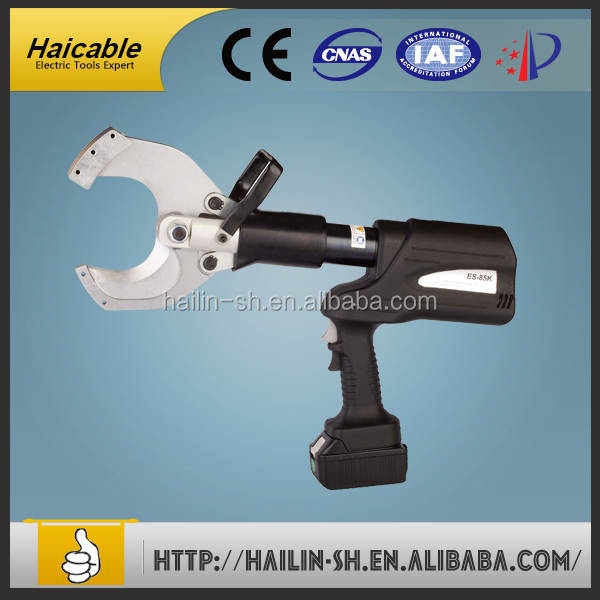 Crab claws cutter machine with hydraulic cutter pliers for cutting AC cable Max. demeter 85mm