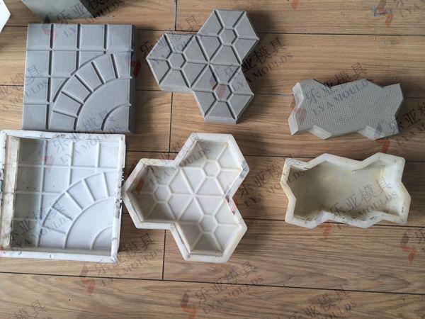 Pp Pvc Concrete Interlock Paver Mould Maker Buy