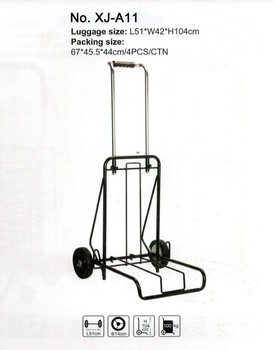 8543793487b1 Factory Metal Foldable Cheap Sample Luggage Cart Hand Shopping Trolley -  Buy Metal Luggage Trolley,Shopping Trolley,Foldable Luggage Cart Product on  ...