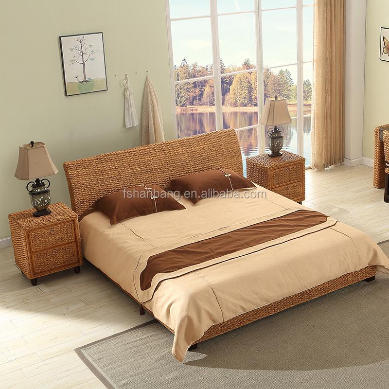 Unique Indoor Design Rattan Seaweed Wicker Bedroom Furniture - Buy Rattan  And Wicker Bedroom Furniture,Rattan Bedroom Set,Bed Room Furniture Bedroom  ...