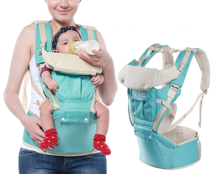 New Designed Infant Toddler Hipseat Baby Carrier Multi-function Baby Hipseat Breathable Baby Carrier
