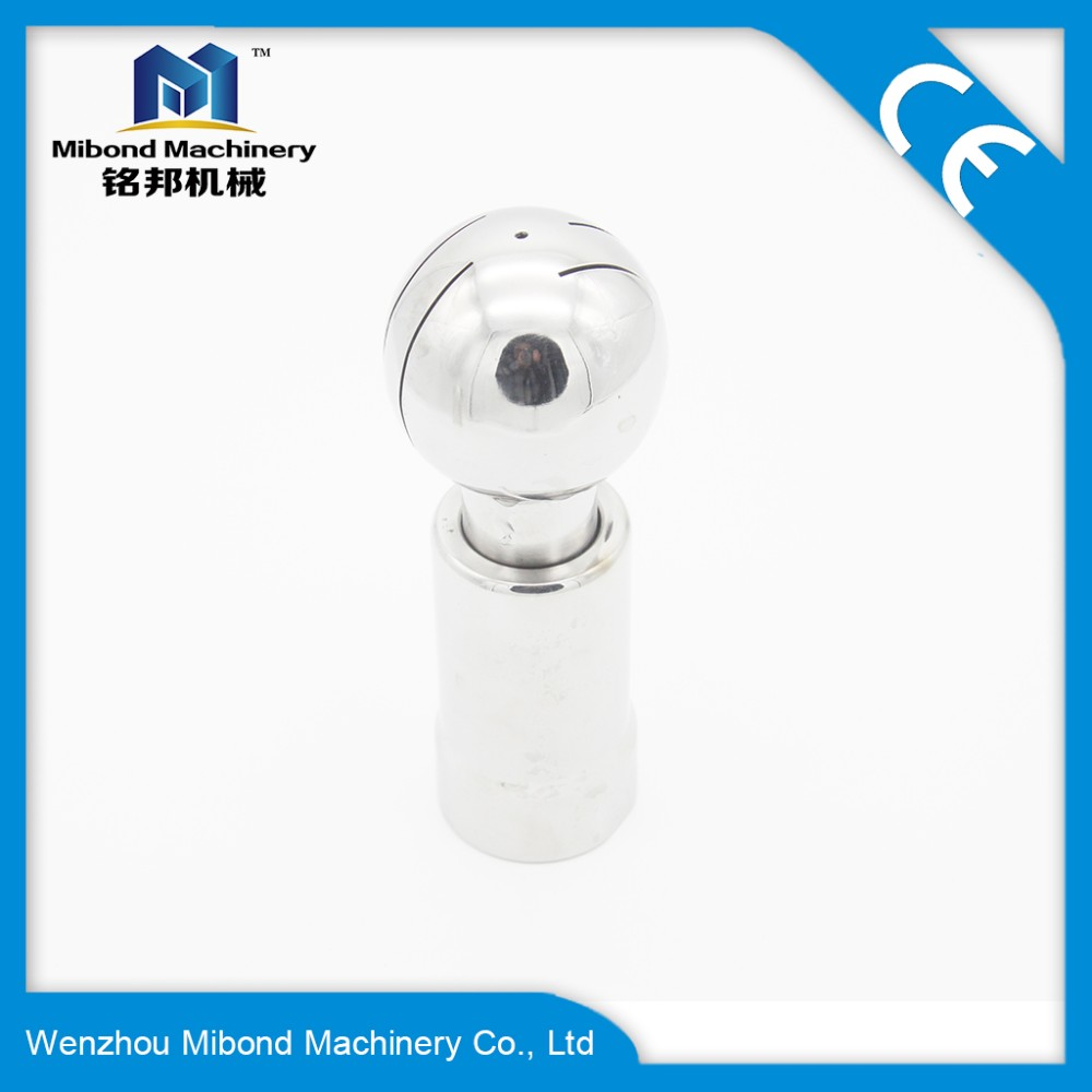 Food Grade Stainless Steel Sanitary Cleaning Ball Rotary Washing Head For Tank Manufacturers