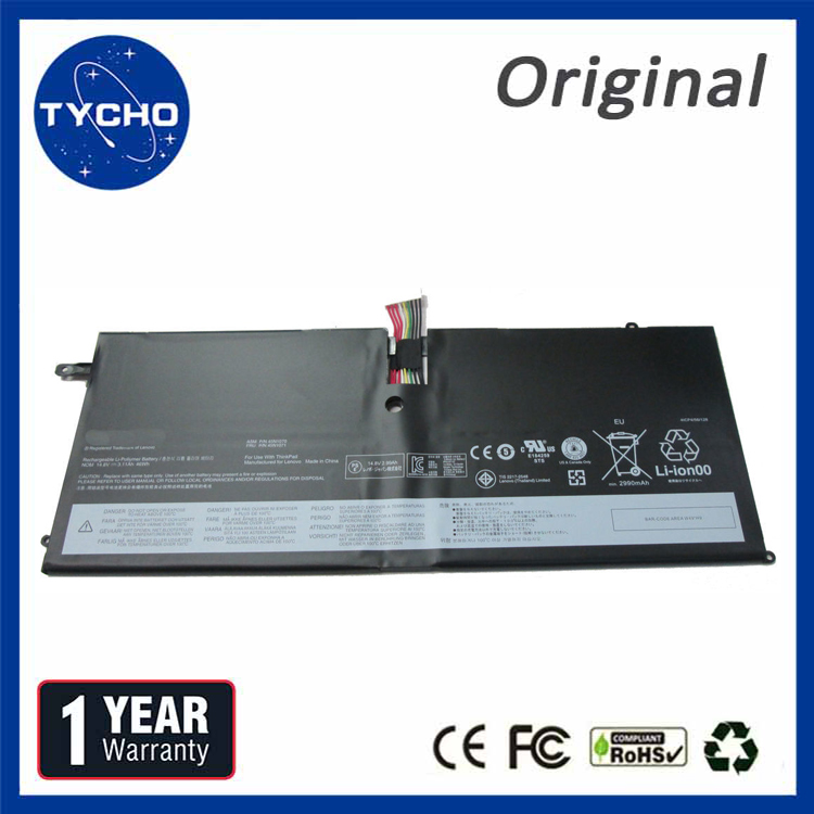 14.8V 46WH New Original Battery 45N1070 For Lenovo ThinkPad X1 Carbon 1st Generation 45N1071 High Quality Battery