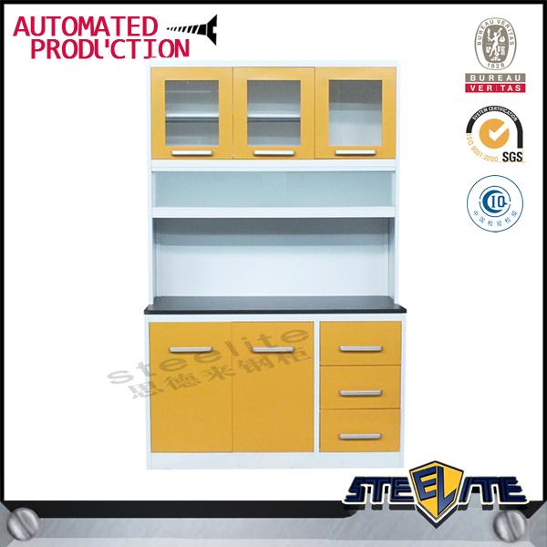 Cheap Stainless Steel Kitchen Pantry Cabinets/aluminium Kitchen ...