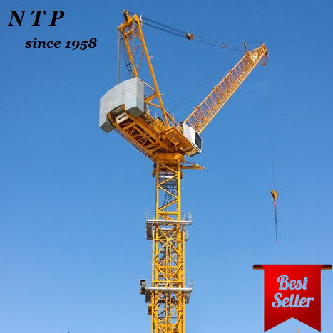 Guangxi Ntp 8tons Qtd125 Construction Luffing Jib Consturction Self Tower  Crane Specifications - Buy Tower Crane,Luffing Tower Crane,Luffing Tower
