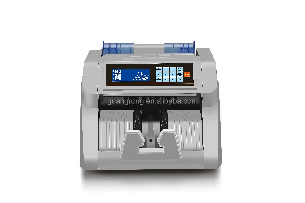 2016 new production! GR-N95 UV/MG Intelligent bill counting machine with LCD Screen