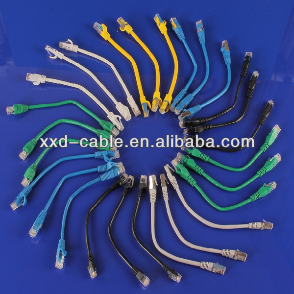 Factory wholesale Customized Cat5e UTP Copper Patch Cable