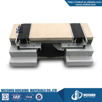 Commercial flush seal material aluminum floor covers expansion joints design