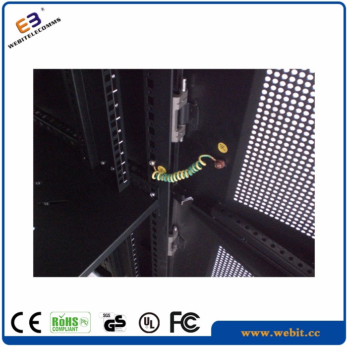 19 inch +multi section cabling rack used for telecommnucation equipments and network 19'' cabinet