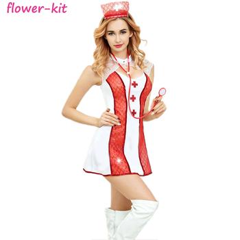 Nurse Halloween Costumes | China Wholesale Sexy Women Nurse Halloween Costume Buy Nurses Sexy