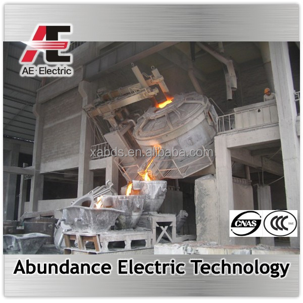 Steelmaking electric metal smelter from 5t to 100t for sales