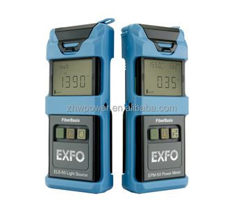 Optical Power Meter ELS-50 light source,fiber optical light source power meter EXFO SM-MM OTDR 850/1300/1310 nm 24/25/32/30dB