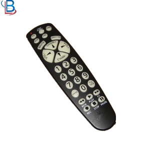 Universal ZN-735W Remote Control For DVD VCR SAT/CBL TV With Big Buttons