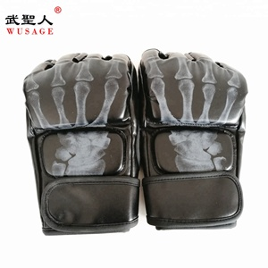 High quality custom MMA boxing gloves training ufc fighting gloves bag gloves