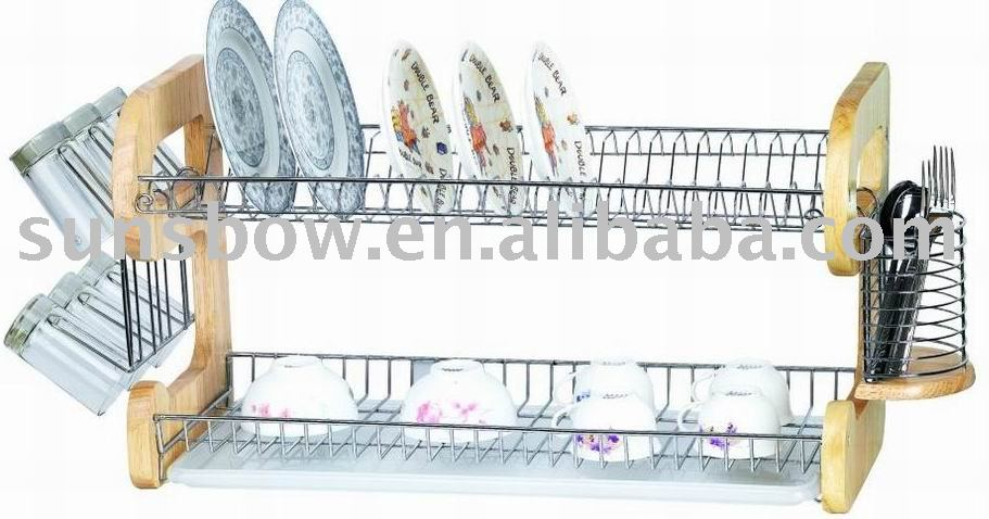 Wooden Dish Drainer Rack, Wooden Dish Drainer Rack Suppliers And  Manufacturers At Alibaba.com