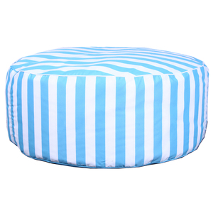 Fancy Living Room Sitting Round Stripe Printed Bean Bag Chair