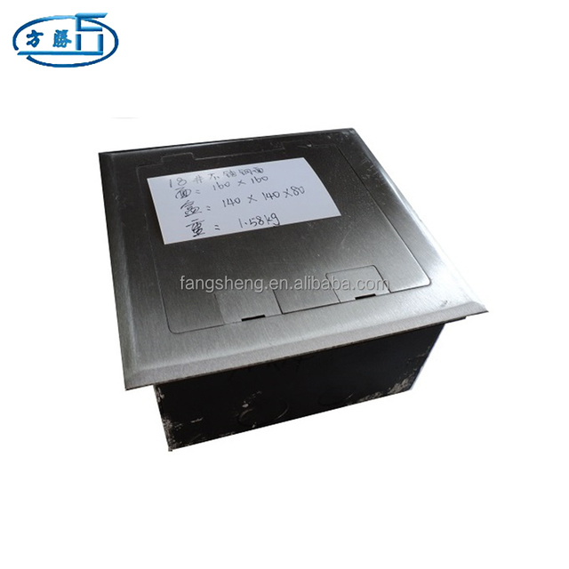 Various Types Of Functional Electrical Floor Box For Data Center Rooms