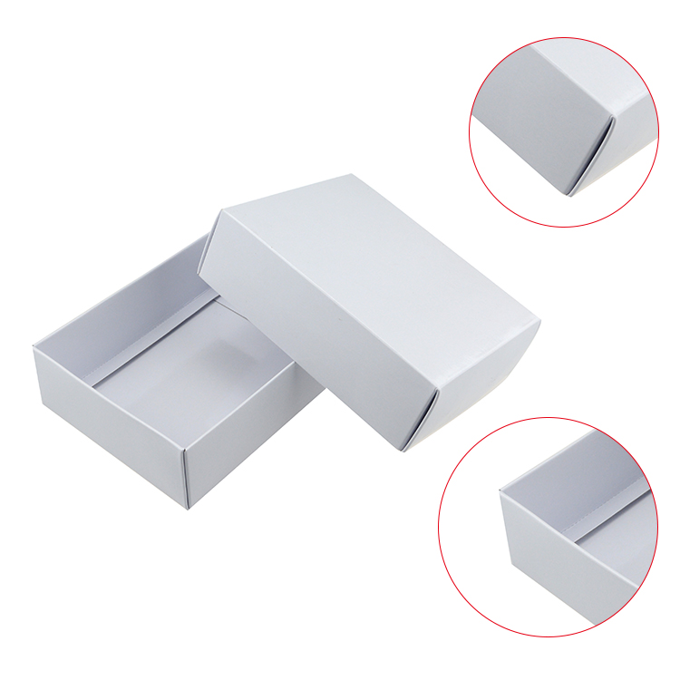 Custom printing fly box tuck top corrugated box for packaging
