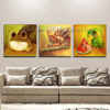 China Top Supplier Wholesale High Quality Funny Animals Oil Paints On Canvas Handmade Frog And Parrot Oil Painting For Baby Room