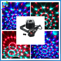 Stage Lighting LED Crystal Magic Ball Light Disco /DJ/ KTV Club crystal light