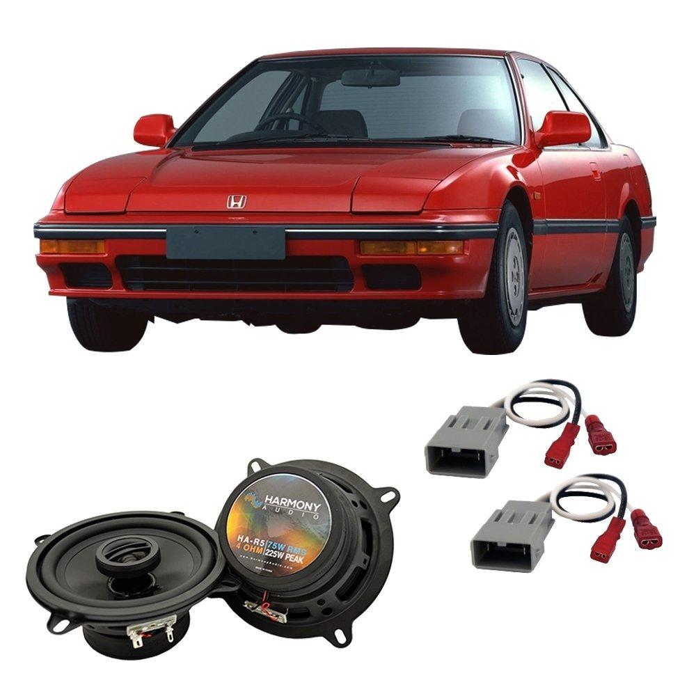 Get Quotations · Fits Honda Prelude 1986-1987 Front Door Factory  Replacement Harmony HA-R5 Speakers New
