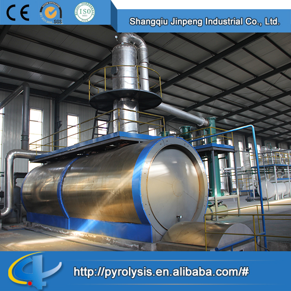 New Design Fashion Low Price Pyrolysis Tire to Oil with Distillation Equipment