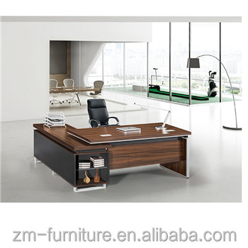 Unique Boss Desk, Melamine Office Furniture , Office Desk