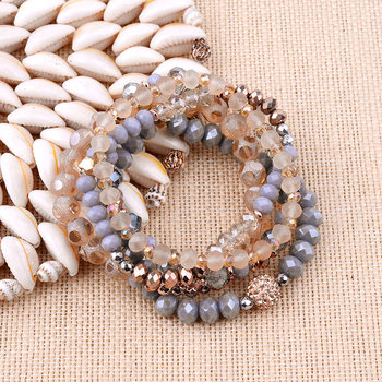 Environmental Protection Jewelry Set Vintage Women Jewelry Bracelet Beads