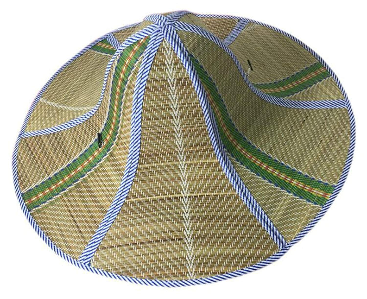 deb9bd7a Get Quotations · ilishop Women's Men's Straw Hat Fishing and Gardening Sun  Hat