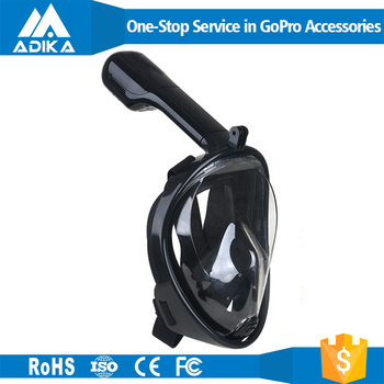 Hot Sales Snorkel Mask Full Face For Gopros Camera Diving Mask From China