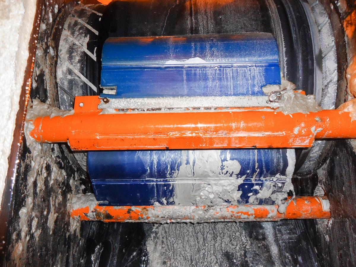 Conveyor Belt Washing Systems Belt Brush Cleaners Use